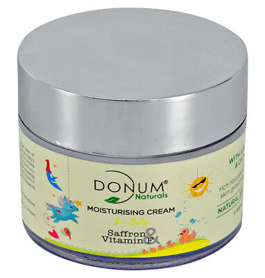 BABY moisturizing CREAM for healthy glowing skin, natural and chemical FREE, 60g