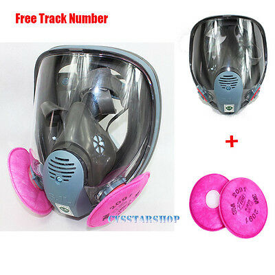 3 in 1 Chemical Painting Spray Silicone For 6800 Gas Mask Full Face Respirator