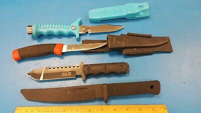 Lot Of 3 Fixed Blade And One Trainer  (75415B 1-25)