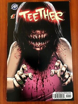 Teether # 1 Main Cover 1st Print Antartic Press 2018 NM SHIPS 1st CLASS
