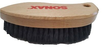 Sonax Textile & Leather Brush Ergonomic Dry & Wet Cleaning Gentle Smooth Surface
