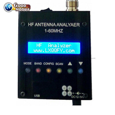 MR300 Digital Shortwave Antenna Analyzer Meter 1-60M Tester For Ham Radio