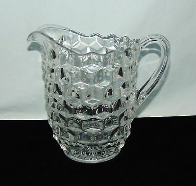 "Fostoria AMERICAN CRYSTAL *6 3/4"" PITCHER*"