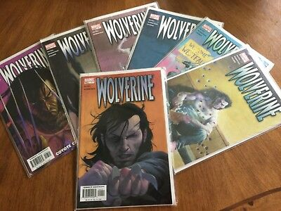 Wolverine 1,2,3,4,5,6,7 Marvel, 2003 Lot Of 7 Nm+/nm/m 9.8 Hi-Grade Set