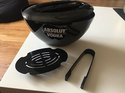 2x Absolut Vodka Eiskühler