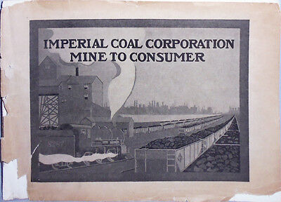 -Rare- Early -Imperial Smokeless Coal- Industrial Mining Trade Catalog