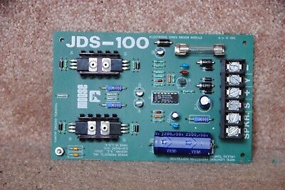 Moose Electronic Alarm System Siren Driver Module - Jds-100 - Made In U.s.a.!