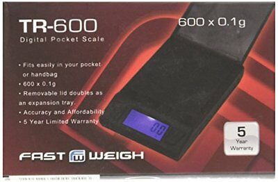 NEW MS-600 Fast Weigh Digital Pocket Scale 600g x 0.1g Gold Jewelry Coin Herb