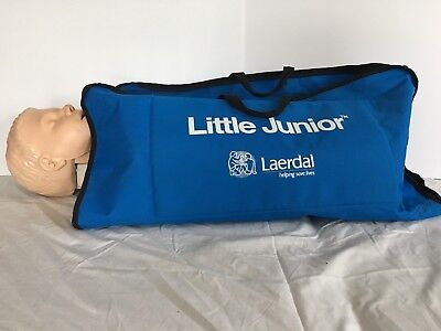 laerdal little juniormanikin with bag and many extras
