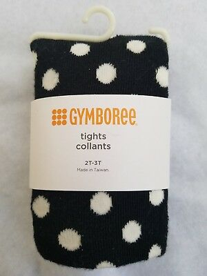 NWT Gymboree Polar Pink Navy Cable Tights Size XS (4)