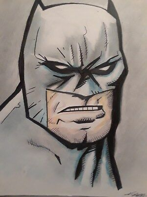 Batman Original  ( Not A Print)