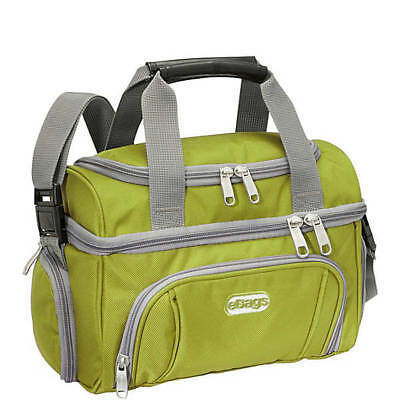 NEW-eBags Crew Cooler Jr Lunch Bag Cooler-Green Envy (FREE SHIPPING)
