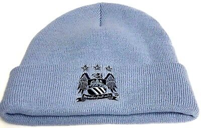 Manchester City Hat Official Football Club Gifts Retro Club Crested