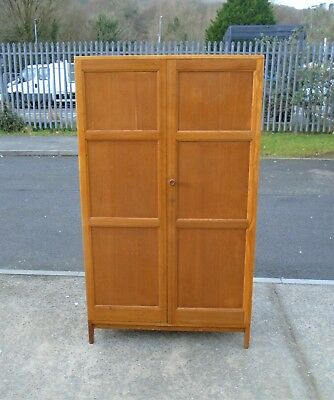 Vintage Wilkinsons 1948 Oak Veneered Wardrobe    Delivery Available