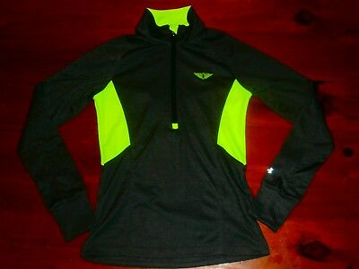 UNDER ARMOUR PERFORMANCE COLDGEAR RUN GYM Women M SEMI-FITTED Sports Track Top