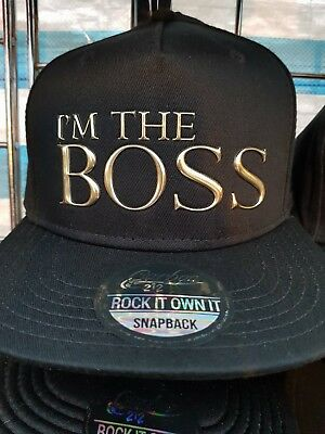I'm The Boss Cap Unisex One Size  Fits All Baseball Cap On Sale