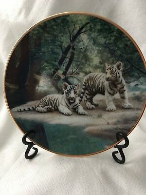 """Charles Frace's 1991 """"Partners"""" Collector's Plate"""