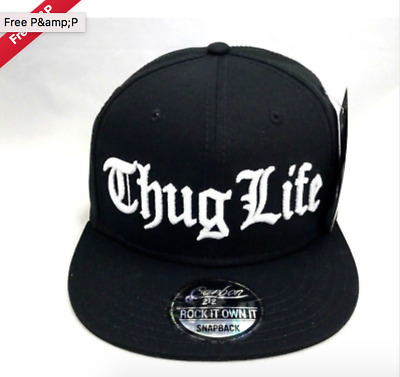 Thug Life Cap Unisex One Size  Fits All Baseball Cap On Sale