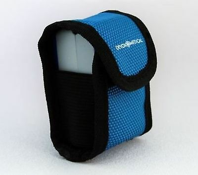 Devon Medical Carrying Case for Fingertip Pulse Oximeters (With Neck Cord and...