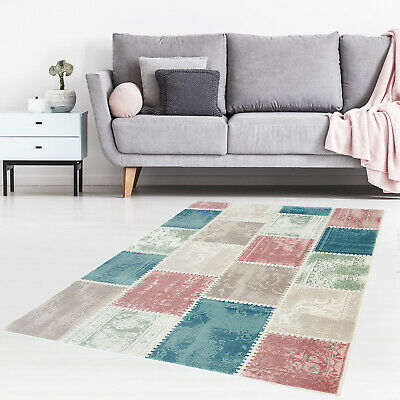 TURC TAPIS MULTICOLORE Patchwork Taille S 3 \'X 4\' ft Nomades ...