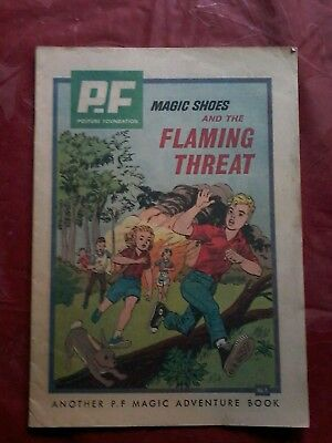 P.f. Magic Shoes And The Flaming Threat Comic 1963