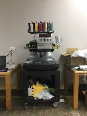 Melco Bravo Package C - 16 Needle Embroidery Machine