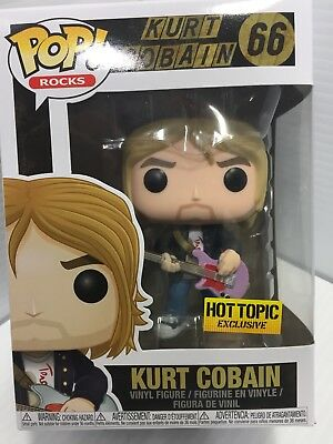 Funko Pop Rocks #66 Kurt Cobain Hot Topic Exclusive