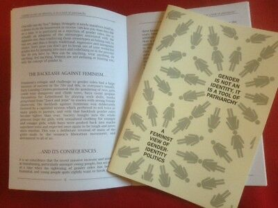 A Feminist View of Gender-Identity Politics  A5 pamphlet 16pp