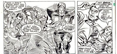 What If Nova Had Been Four Other People? Issue 15 Page 22 By Carmine Infantino!