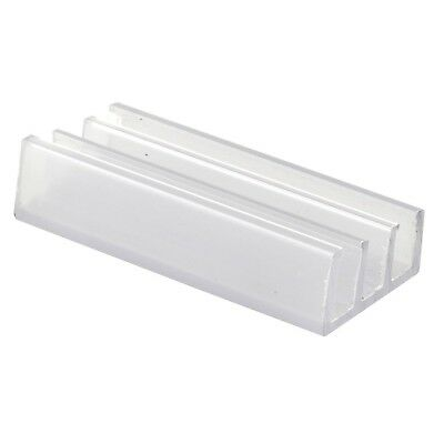 Prime-Line Products M 6089 Shower Door Bottom Guide, Nylon,(Pack of 2)
