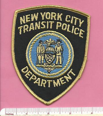 Old New York City Transit Police NYC Defunct Law Enforcement Patch