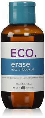 ECO. Erase Natural Body Oil, for Stretch Marks, Scars and Blemishes, Made in ...