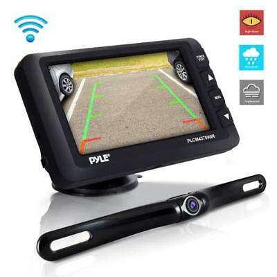 Wireless Rear View Backup Camera & Monitor Kit - Vehicle Parking/Reverse System