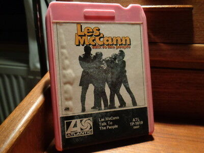 LES MC CANN talk to the people 8 track tape Stereo