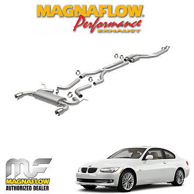 """MAGNAFLOW 2.5"""" Cat Back Stainless Dual Exhaust System 2011 BMW 335i 3.0 16387"""
