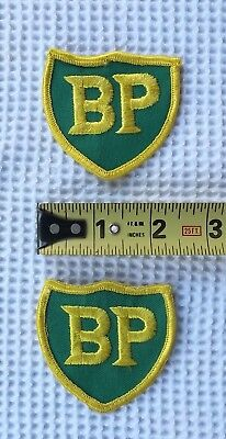 Bp Gas & Oil Company Cap Or Uniform Patches    Not Mobil, Phillips 66, Or Texaco