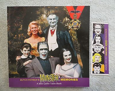SIGNED BY BUTCH PATRICK - Munster Memories - A Coffin Table Book -  AUTOGRAPHED