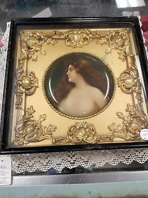Antique Victorian Shadow Box Old