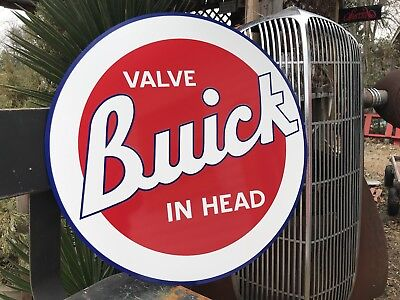 Antique Vintage Old Style BUICK Sign