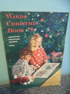 Vintage 1960 Montgomery Ward Christmas Catalog, Barbie, Trains, Western, Toys