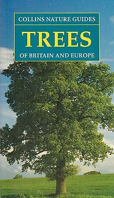 Collins Nature Guides Trees of Britain and Europe BRAND NEW BOOK (P/B 2017)
