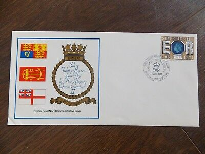 GB 1977 QE2 Silver Jubilee FDC Review of the Fleet British Forces Cancel