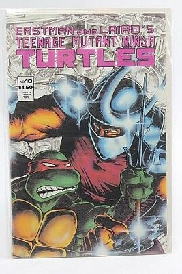 Eastman and Lairds Teenage Mutant Ninja Turtles #10 Mirage 1987 Shredder M