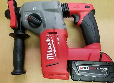 "Milwaukee 2712-20 M18 FUEL BRUSHLESS 1"" SDS Plus Rotary Hammer & Battery"