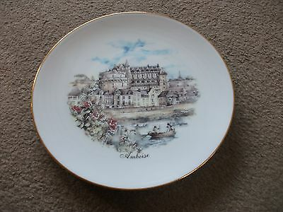 Limoges Porcelain Plate Of Amboise-In Exc. Cond.-No Scratches-18.5 Cm In Diametr