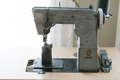 Singer 236w100 Industrial Leather Sewing Machine // Shoes, Bags, Hats, Canvas!