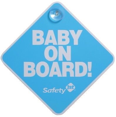 Safety 1st Baby On Board Sign, Blue