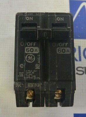 General Electric GE THQB2160 2 Pole 60 Amp Circuit Breaker