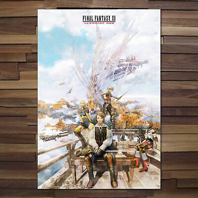 Final Fantasy XII The Zodiac Age Poster - High Quality Prints