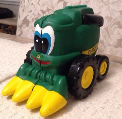 John Deere Tractor COREY COMBINE'S BIG DAY Book Toy Farm Education 1997 ERTL